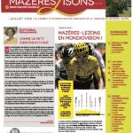 Mazères-Lisons n°25 – Juillet 2019