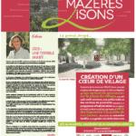 Mazères-Lisons n°27 – Novembre 2020